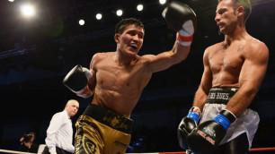 Казахстанский боксер Уалиханов одержал третью победу в профи