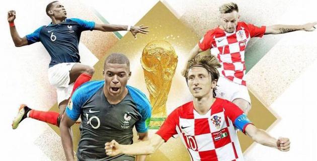 Букмекеры назвали наиболее вероятный счет в финале ЧМ-2018 Франция - Хорватия