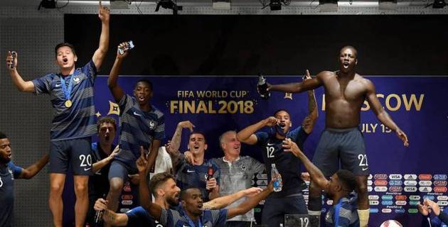 Футболисты сборной Франции сорвали пресс-конференцию тренера после победы на ЧМ-2018