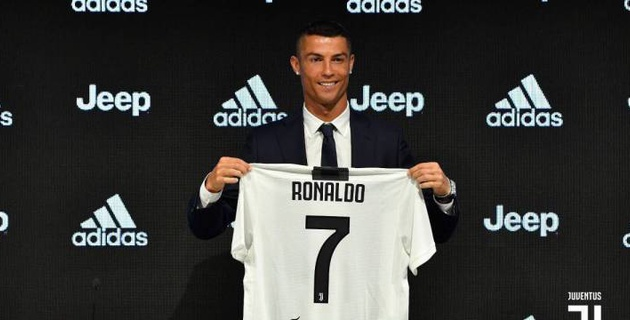 """Ювентус"" представил Роналду: португалец объяснил выбор нового клуба"