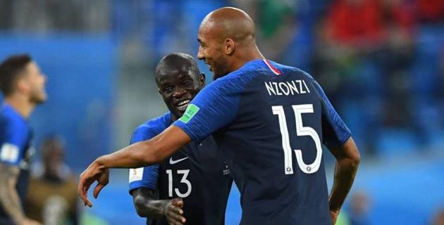 Француз стеснялся попросить кубок во время празднования победы на ЧМ-2018 и на выручку пришел партнер