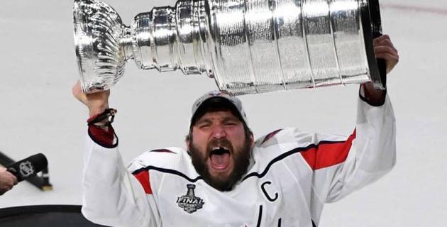 Овечкин первым из хоккеистов признан лучшим спортсменом года по версии ESPY