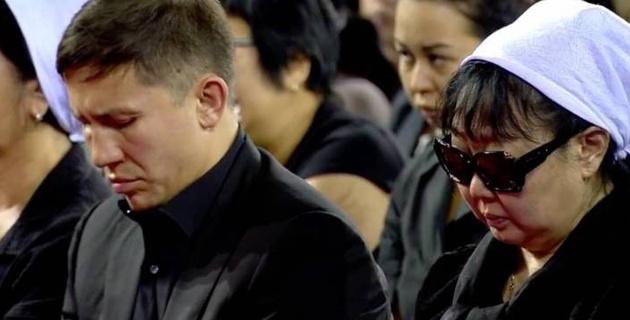 Геннадий Головкин прибыл на похороны Дениса Тена в Алматы