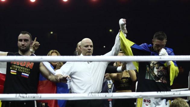 Тренирующийся с Головкиным Гассиев проиграл Усику и не смог стать абсолютным чемпионом мира