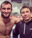 Геннадий Головкин посетил финальный бой WBSS Гассиев - Усик в Москве