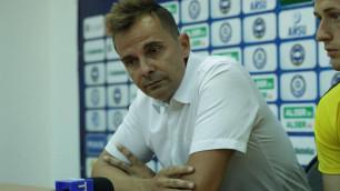 """Тренер """"Кайрата"""" пожаловался на судейство после поражения от """"Ордабасы"""""""