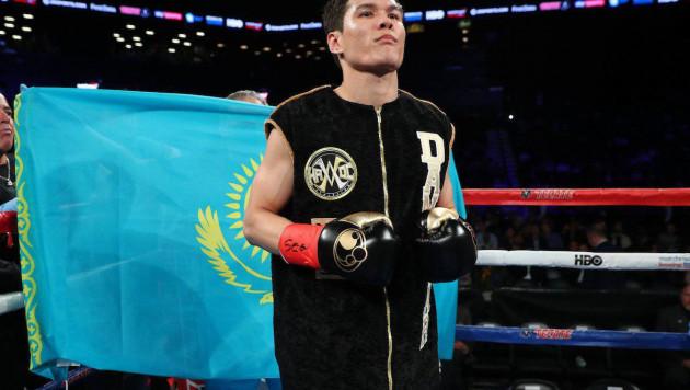 Третий бой Данияра Елеусинова в профи покажут в Казахстане в прямом эфире