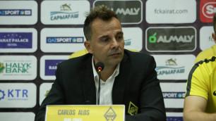 """Мы не боимся """"АЗ Алкмар"""" и будем играть первым номером - тренер """"Кайрата"""" о Лиге Европы"""
