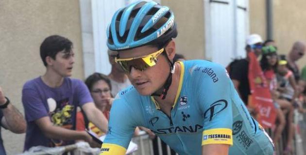 """Спортдиректор """"Астаны"""" назвал причины выпадения капитана из ТОП-10 на """"Тур де Франс"""" и задачи на последние этапы"""