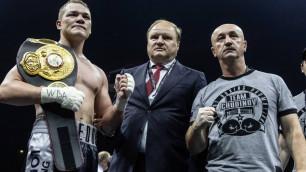 Промоутер нашел виновных в освистывании боксера тренера Головкина после домашней победы