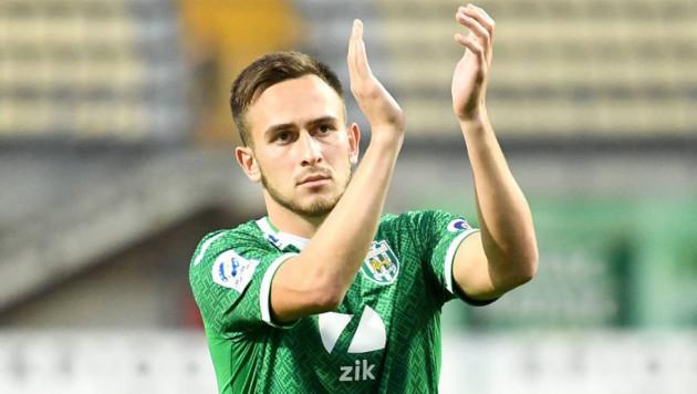 Бывший полузащитник молодежной сборной Украины стал игроком казахстанского клуба