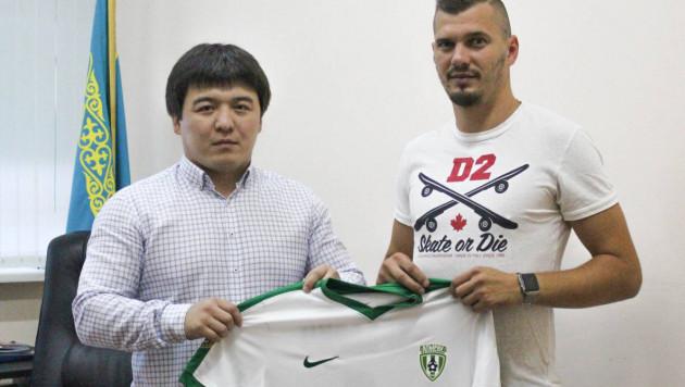 Экс-игрок сборной Словакии подписал контракт с казахстанским клубом