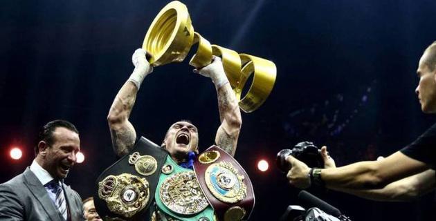 "WBO присвоила Усику звание ""суперчемпиона"" и приблизила его к бою с Джошуа"