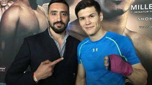 Менеджер рассказал о рассечении Елеусинова и подсказках американского тренера в третьем бою