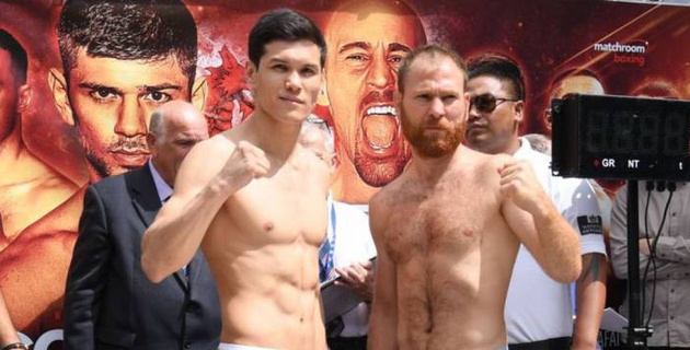 Видео полного боя Данияра Елеусинова против боксера из Венгрии