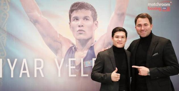 Промоутер Данияра Елеусинова оценил его третью победу в профи