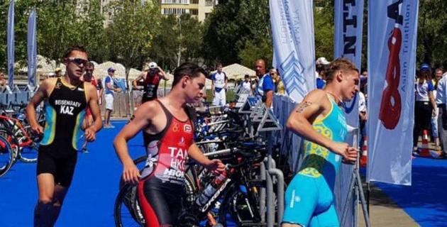 В Алматы определились победители чемпионата Казахстана по триатлону