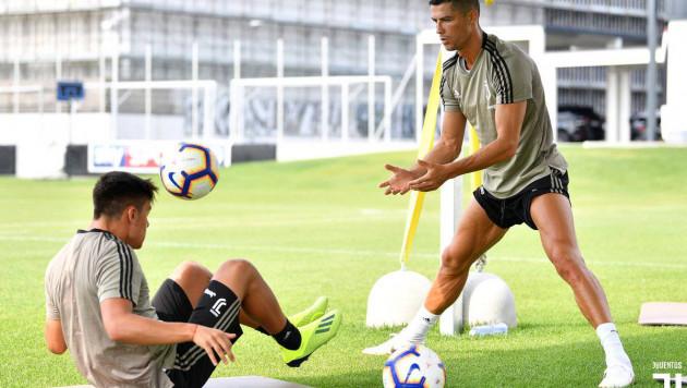 Роналду опозорился на тренировке, и новые одноклубники подняли его на смех