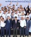 Сборную Казахстана официально проводили на летнюю Азиаду-2018