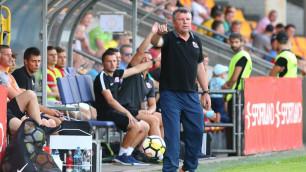 Соперник клуба казахстанца сменил главного тренера перед ответным матчем Лиги Европы