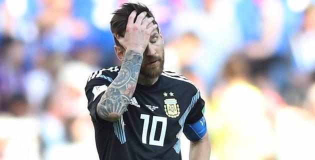 Месси временно ушел из сборной Аргентины