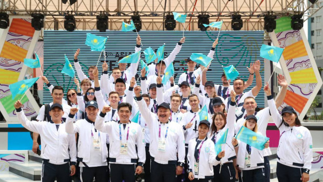 Казахстанская делегация официально прибыла на летние Азиатские игры в Индонезию