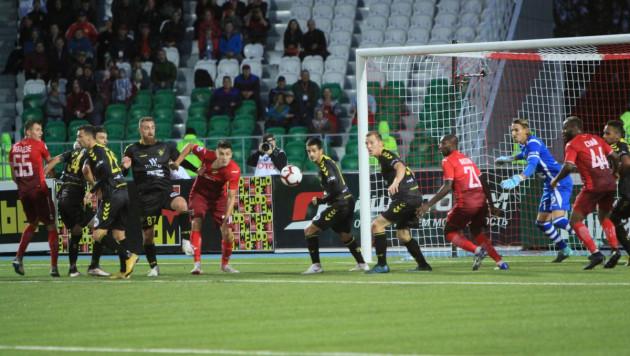Гол на 94-й минуте вывел клуб Еркебулана Сейдахмета в раунд плей-офф Лиги Европы