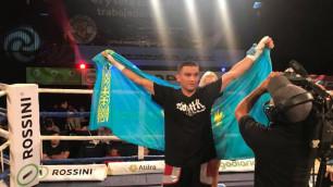 Казахстанец с шестью нокаутами может провести титульный поединок на родине