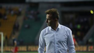 """""""Кайрат"""" сделал заявление о главном тренере после вылета из Лиги Европы"""