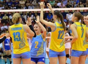 Казахстанские волейболистки стартовали с победы на Азиаде-2018