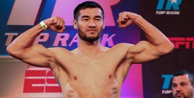 Казахстанскому боксеру на дебютный бой в Top Rank достался американец с семью победами подряд