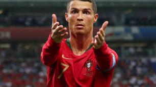 ФИФА напомнила о юбилее дебюта Криштиану Роналду за сборную Португалии в матче с Казахстаном