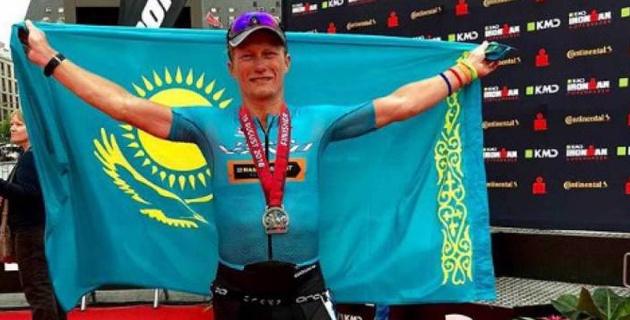 Александр Винокуров представит Казахстан на чемпионате мира по супертриатлону IRONMAN