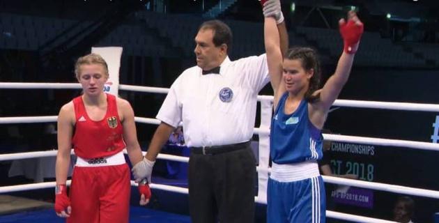 Казахстанская чемпионка Азии отправила немку в нокдаун и довела ее до слез на молодежном ЧМ