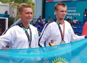 """Теннисисты Бублик и Евсеев принесли Казахстану """"серебро"""" Азиады в парном разряде"""