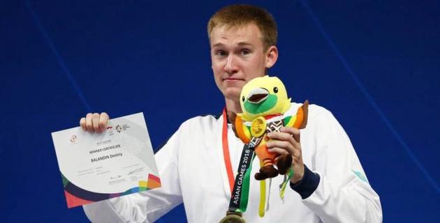 Олимпийский чемпион Дмитрий Баландин завоевал вторую медаль на Азиаде-2018