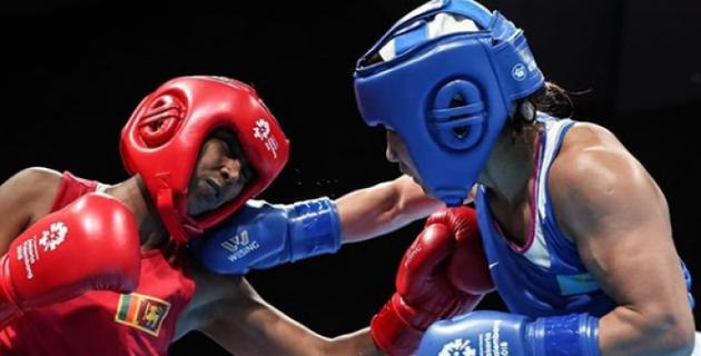 На Азиаде-2018 стартовала первая представительница женской сборной Казахстана по боксу
