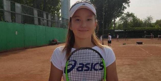 Казахстанка Тахмина Жанатова одержала двойную победу на турнире ITF Juniors G4 в Бишкеке