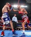 Тяжелый нокдаун решил исход боя между мексиканским ветераном и претендентом на его титул