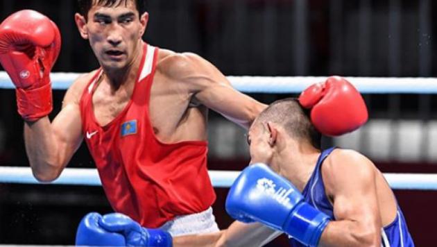 Боксер Шымбергенов стал первым полуфиналистом из Казахстана на Азиаде-2018