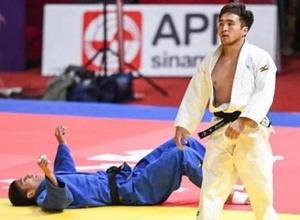 Титулованный казахстанский дзюдоист остался без медали на Азиаде-2018