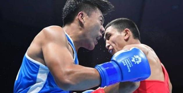 Боксер-знаменосец сборной Казахстана вышел в полуфинал Азиады-2018 и гарантировал себе медаль