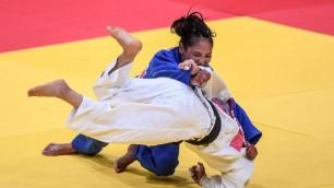 Галбадрах Отгонцэцэг принесла Казахстану первую медаль Азиады-2018 в дзюдо