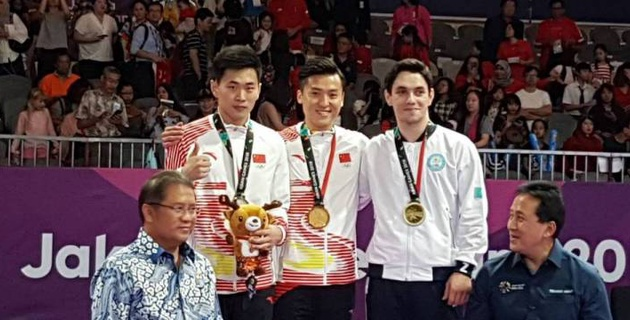 Казахстан взял 55-ю медаль на Азиаде-2018