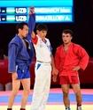 Самбисты принесли Казахстану две бронзовые медали на Азиаде