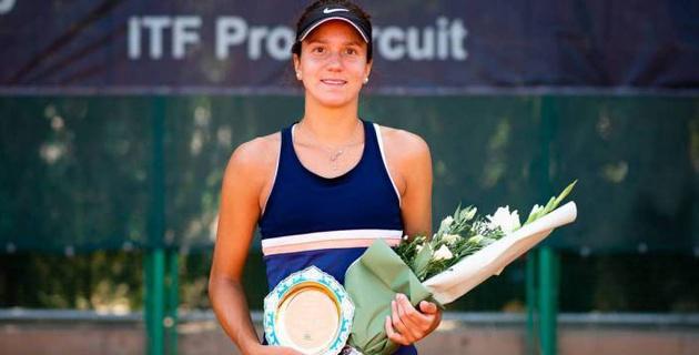 Казахстанская теннисистка Данилина дошла до финала турнира ITF
