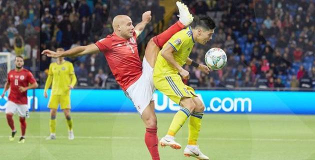 """""""Перебили, но проиграли"""". Как Казахстан играл с Грузией в первом в истории матче Лиги наций"""