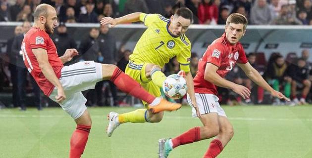 Известный в прошлом вратарь назвал причины поражения Казахстана от Грузии в Лиге наций