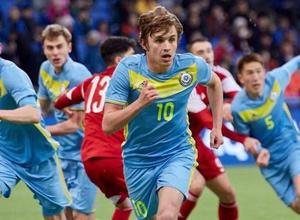 Прямая трансляция матча Казахстан - Словения в отборе на молодежный Евро-2019