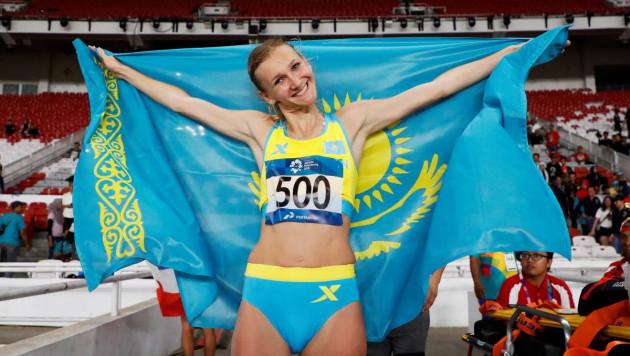 """Рыпакова с """"золотым"""" результатом Азиады-2018 стала второй на Континентальном кубке IAAF"""